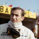 Fine Art Print of 1966 Formula 1 Championship, Jackie Stewart, BRM by Anonymous