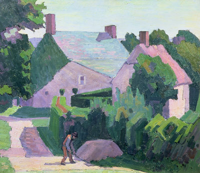 Dunn's Cottage by Robert Polhill Bevan - print