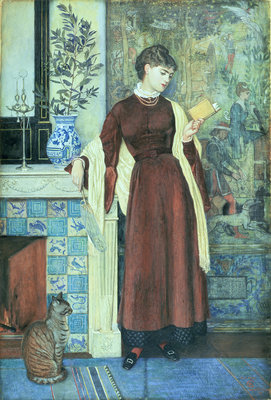 At Home: A Portrait, 1872 by Walter Crane - print