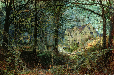 Autumn Glory: The Old Mill, 1869 by John Atkinson Grimshaw - print
