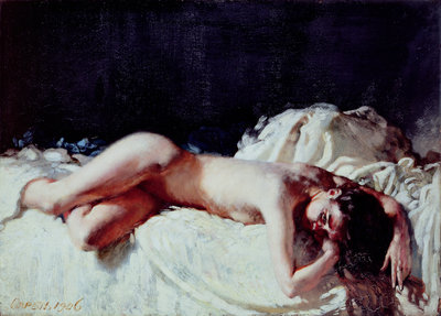 Nude Study, 1906 by Sir William Orpen - print