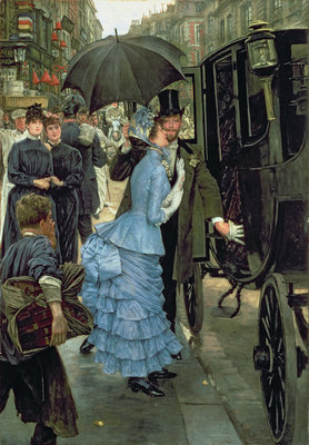 The Bridesmaid, c.1883-85 by James Jacques Joseph Tissot - print