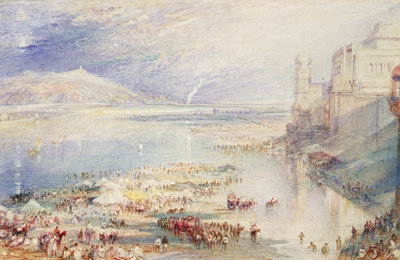 Part of the Ghaut at Hurdwar, c.1835 by Joseph Mallord William Turner - print