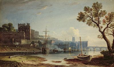 View of Chester, 1810 by John Varley - print