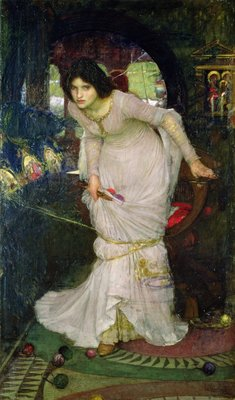 The Lady of Shalott, 1894 by John William Waterhouse - print
