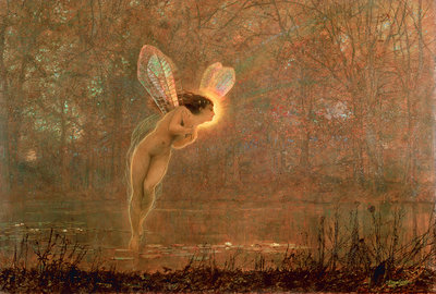 Iris, 1886 by John Atkinson Grimshaw - print