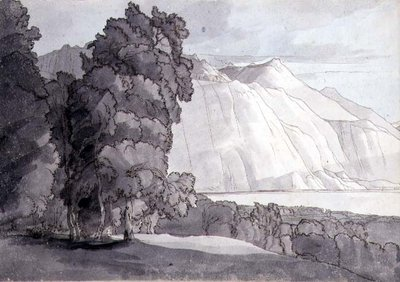 Landscape by Francis Towne - print