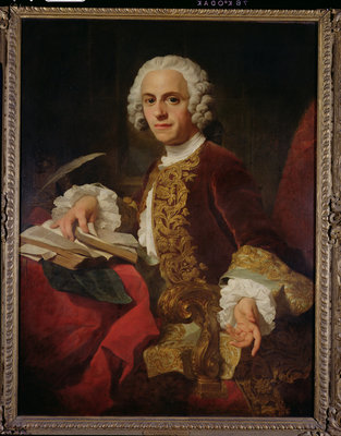 Portrait of Horatio Walpole by Pierre Subleyras - print