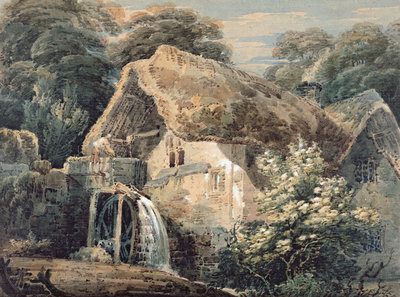 An Overshot Mill, Devon, 1797 by Thomas Girtin - print
