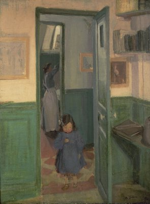 In Sickert's House, 1907 by Harold Gilman - print
