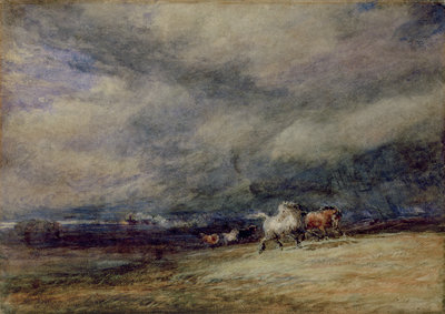 The Night Train, 1849 by David Cox - print