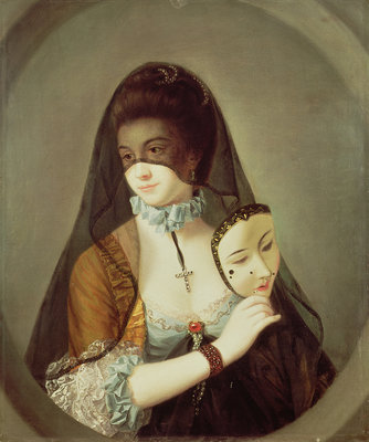 The Fair Nun Unmasked by Henry Robert Morland - print