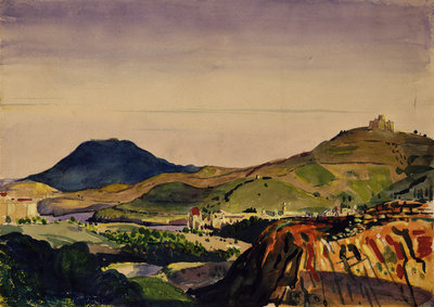 Collioure, 1910 by Derwent Lees - print