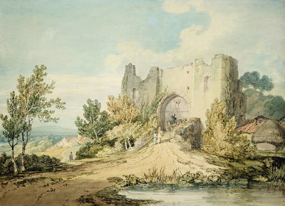 Llanblethian Castle Gateway, 1797 by Joseph Mallord William Turner - print