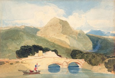 Tan-y-Bwlch by John Sell Cotman - print