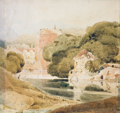 The Water Gate, York by John Sell Cotman - print