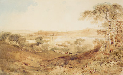 Kirkthorpe, Yorkshire, 1804 by John Sell Cotman - print