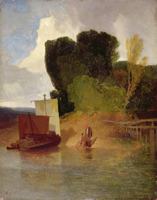 On the River Yare by John Sell Cotman - print