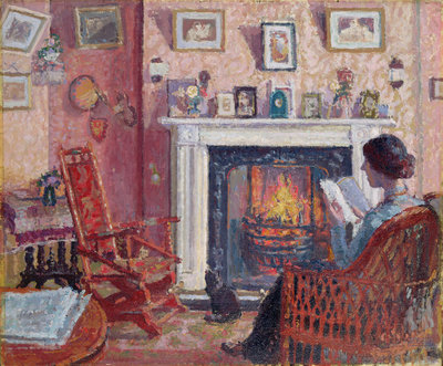 Interior, 31 Mornington Crescent by Spencer Frederick Gore - print