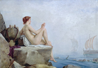 The Siren, 1888 by Edward Armitage - print
