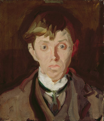 Portrait of Spencer Frederick Gore by Harold Gilman - print