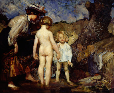 The Pond, 1908 by George Washington Lambert - print