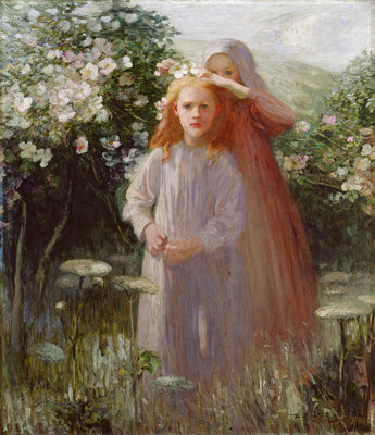 Wild Roses, 1906 by Mark Senior - print