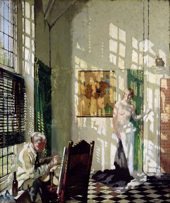 The Studio by Sir William Orpen - print