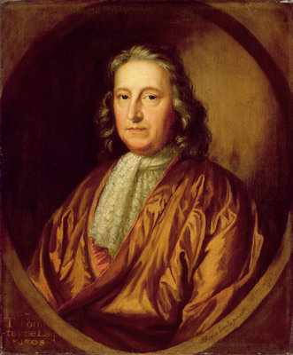 Portrait of Thomas Fountaine by Mary Beale - print