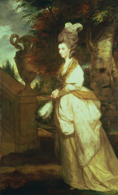 Portrait of Lady Hertford by Sir Joshua Reynolds - print