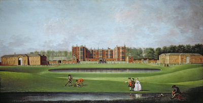 View of Temple Newsam House, c.1750 by James Chapman - print