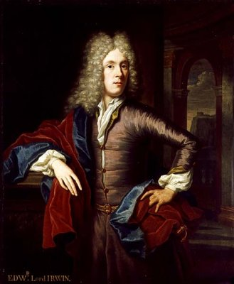 Portrait of Edward, 4th Viscount Irwin by Thomas van der Wilt - print