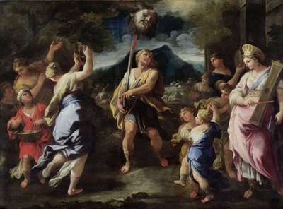 Triumph of David by Luca Giordano - print