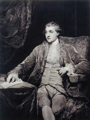 Portrait of the Duke of Leinster by John Dixon - print