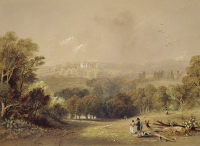 Roundhay Park, Leeds by John Wilson Carmichael - print