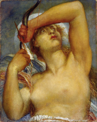 Artemis by George Frederic Watts - print