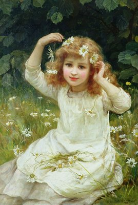 Marguerites, 1889 by Frederick Morgan - print