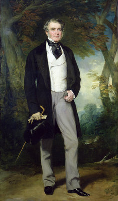 Portrait of William Beckett by Sir Francis Grant - print