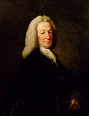 Portrait of Judge Richard Wilson by Benjamin Wilson - print