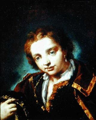 Portrait of a Young Man by Giovanni Antonio Guardi - print