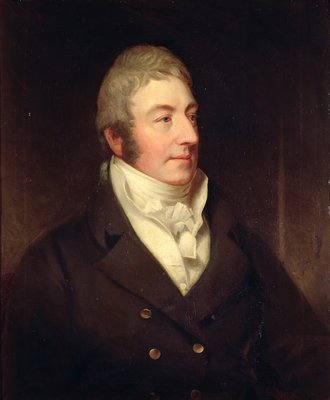 Portrait of Richard Oliver Gascoigne, c.1815 by English School - print
