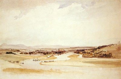 The Seine at Rouen by Thomas Shotter Boys - print