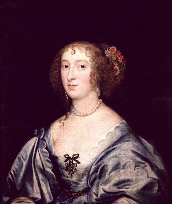 Portrait of Lady Hungate by English School - print