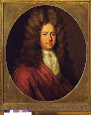 Sir John Gascoigne, 5th Baronet by English School - print