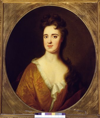 Mary Widdrington, wife of Sir John Gascoigne, 5th Baronet by English School - print