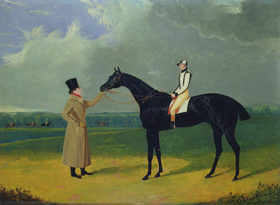 Jerry, Winner of the St. Leger 1824 by John Frederick Herring Snr - print