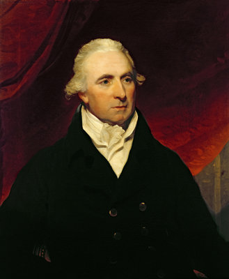 Portrait of Charles Trench by English School - print