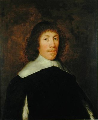 Portrait of Ellis Woodrofe of Helperley, Derbyshire by Theodore Russel - print