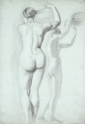 Fine Art Print of Figure studies by William Etty