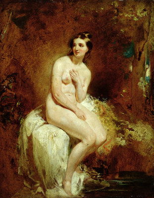 The Bather by William Etty - print